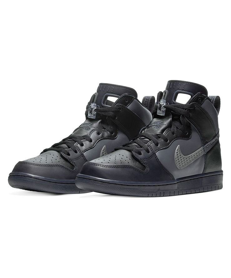 25cm FPAR x Nike SB Dunk High Pro PRM QS Black US7 国内正規品 ナイキ ダンク FORTY PERCENTS AGAINST RIGHTS BV1052-001