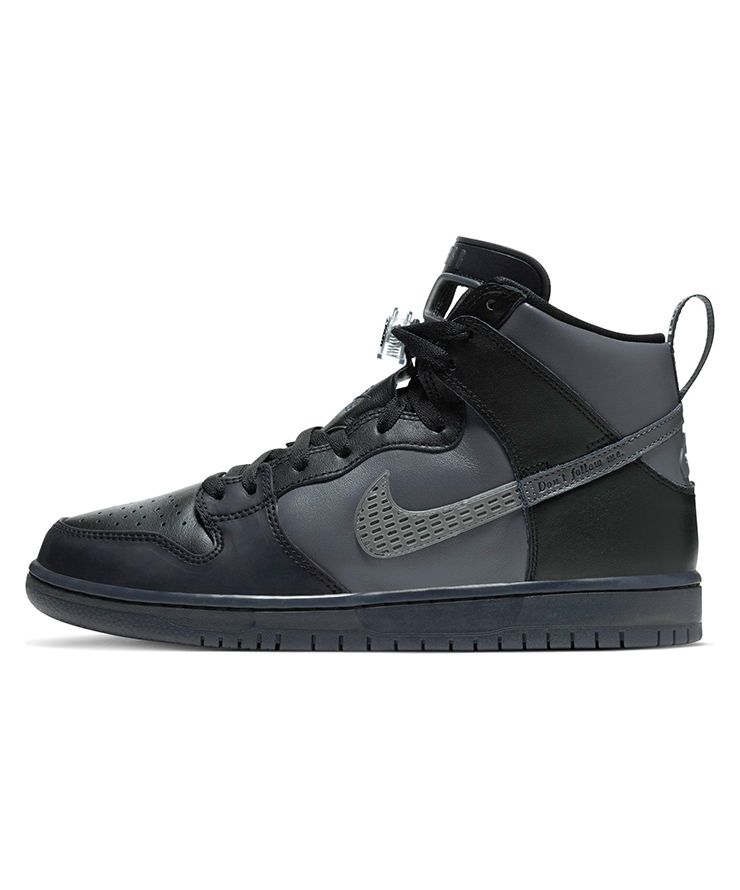 25cm FPAR x Nike SB Dunk High Pro PRM QS Black US7 国内正規品 ナイキ ダンク FORTY PERCENTS AGAINST RIGHTS BV1052-001_画像4
