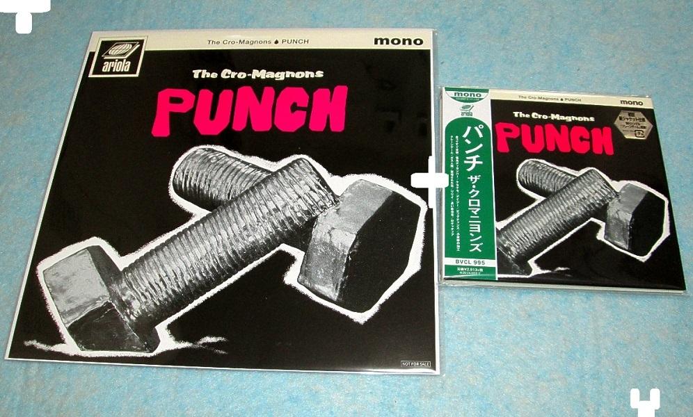 THE CRO,MAGNONS ザ・クロマニヨンズ / Punch パンチ 初回限定紙ジャケット仕様 デカジャケット付 (日本盤)