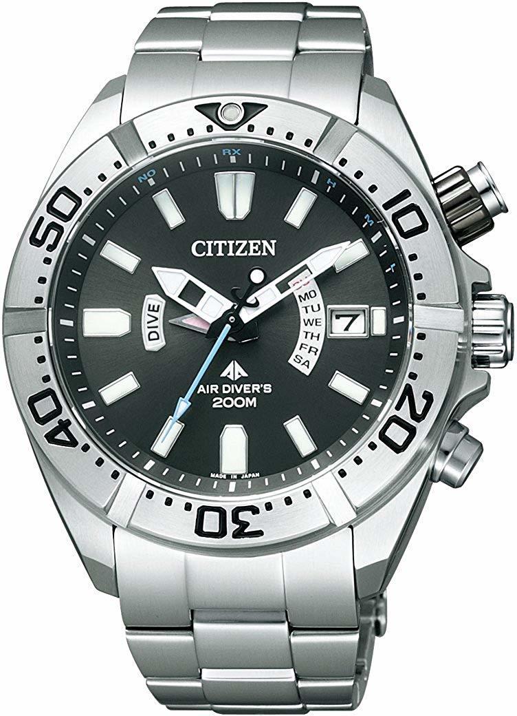 [シチズン]CITIZEN 腕時計 PROMASTER プロマスター エコ・ドライブ 電波時計 マリンシリーズ 200m ダイバー PMD56-3081 メンズ -536-