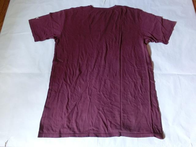 USA購入 MADE IN USA 【Hurley】 ハーレー ロゴプリントTシャツUS XLサイズ エンジ_画像6