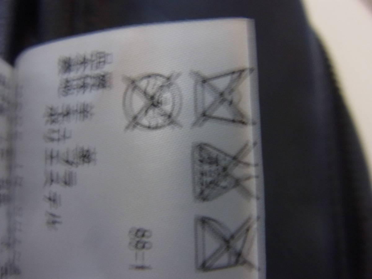 カルバンクライン 羊革レザーダブルライダースジャケット黒_画像6