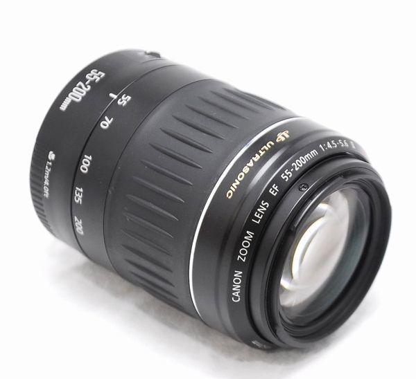 【超美品・豪華セット】Canon キヤノン Kiss X EF 55-200mm Ⅱ USM_画像9