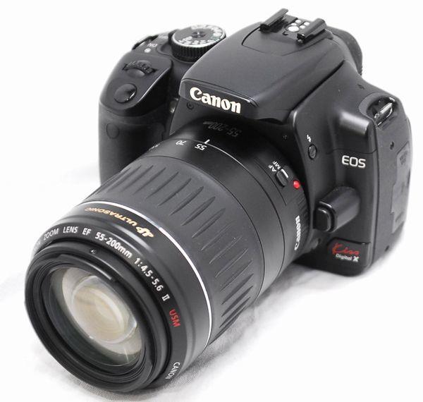 【超美品・豪華セット】Canon キヤノン Kiss X EF 55-200mm Ⅱ USM_画像2