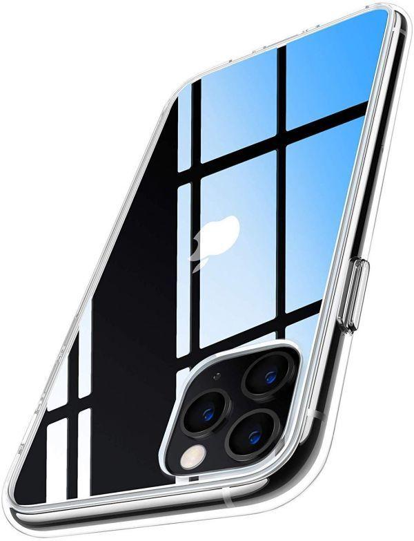 iphone 11 pro ケース クリア 耐衝撃 5.8インチ 対応 衝撃吸収 高透明 2019 カメラ保護 ?#24037;?#20663;防止 滑り?#24037;?ワイヤレス充電対応 (クリア)
