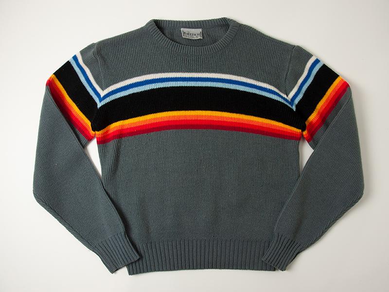 1980年代 FAUCHON ビンテージ スキーセーター ニット_画像2