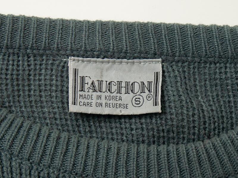 1980年代 FAUCHON ビンテージ スキーセーター ニット_画像4