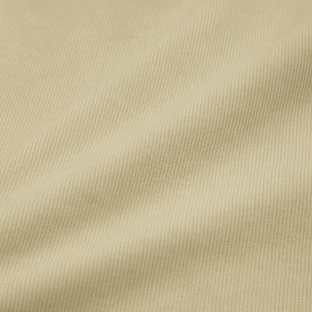 新品タグ付き●GUコーデュロイフレアスカートAMナチュラルカラーオフホワイトフレアシルエットSサイズ_画像2