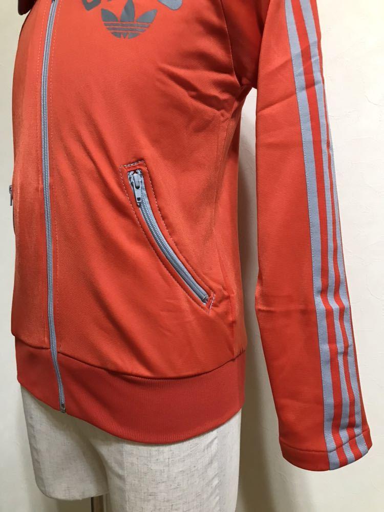 adidas originals アディダス オリジナルス ジャージ トラックトップ ジャケット ビッグロゴ 曲がりポケット マドンナ 長袖 サイズXS_画像7