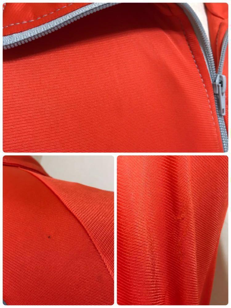 adidas originals アディダス オリジナルス ジャージ トラックトップ ジャケット ビッグロゴ 曲がりポケット マドンナ 長袖 サイズXS_薄染み、擦れダメージあり