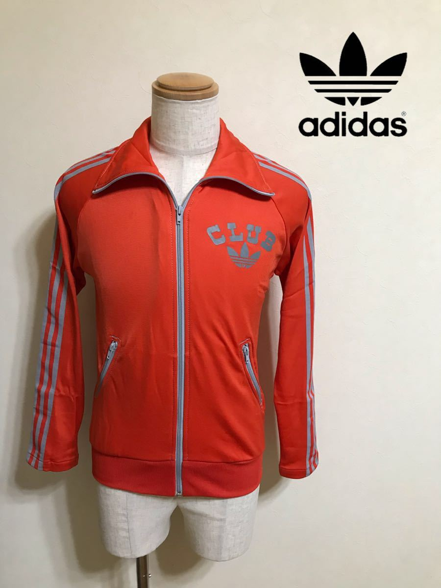 adidas originals アディダス オリジナルス ジャージ トラックトップ ジャケット ビッグロゴ 曲がりポケット マドンナ 長袖 サイズXS_画像1