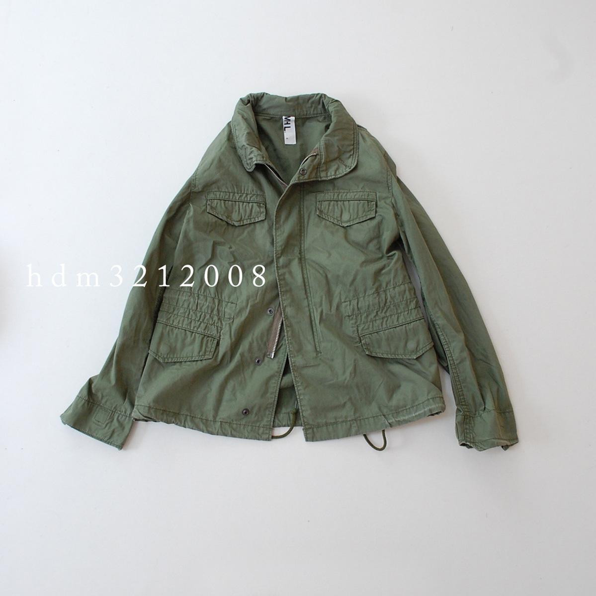 MHL×ALPHA コットンツイル ミリタリージャケット M-65 マーガレットハウエル_画像2