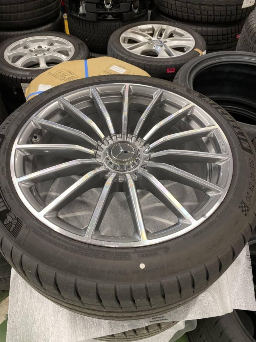 【新車外し】Mercedes-AMG GT 4-Door Coup 純正アルミホイール_画像2