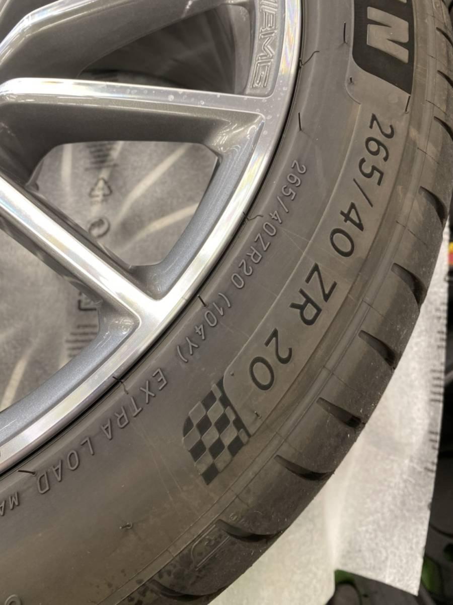 【新車外し】Mercedes-AMG GT 4-Door Coup 純正アルミホイール_画像3