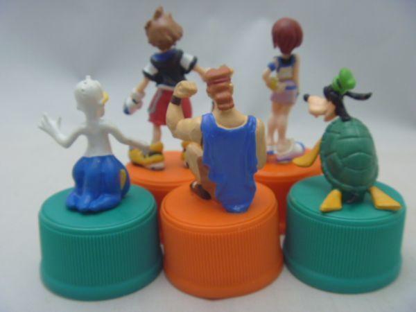 「キングダムハーツ オリジナルボトルキャップフィギュア」 三ツ矢サイダー&バヤリース 2002年キャンペーン品 SB21_画像2