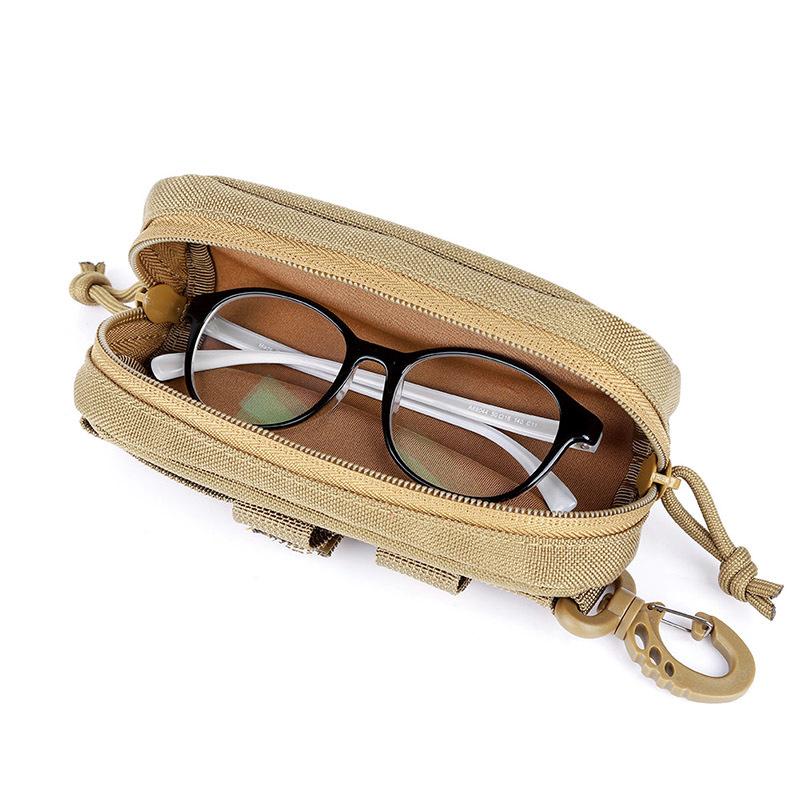 ★1円スタート!即決安いよ!眼鏡ケース 1000D ナイロンハード戦術モールサングラス 迷彩 カモ柄【b84】_画像6