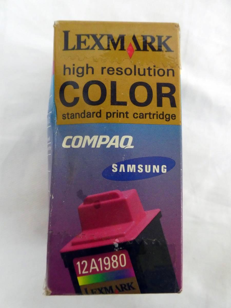 K125【激レア】Z11用 プリンター インクカートリッジ カラー 12A1980F 入手困難_画像1