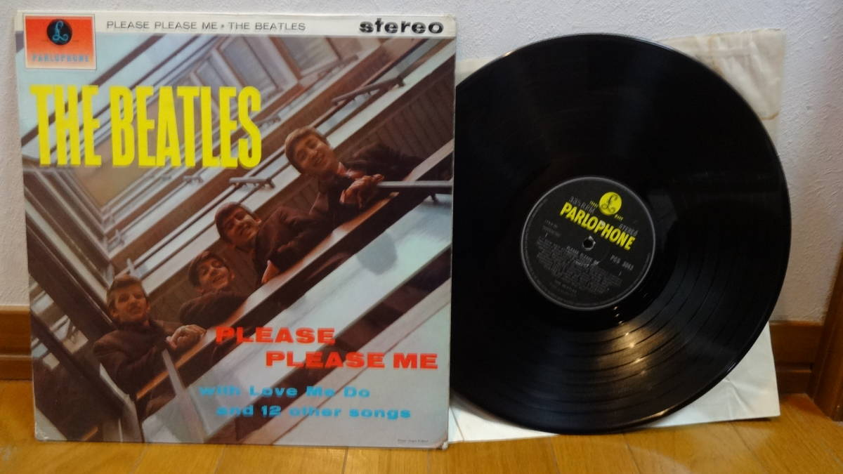 UK・BIGSTEREO盤LP・THE BEATLES/PLEASE PLEASE ME_画像1