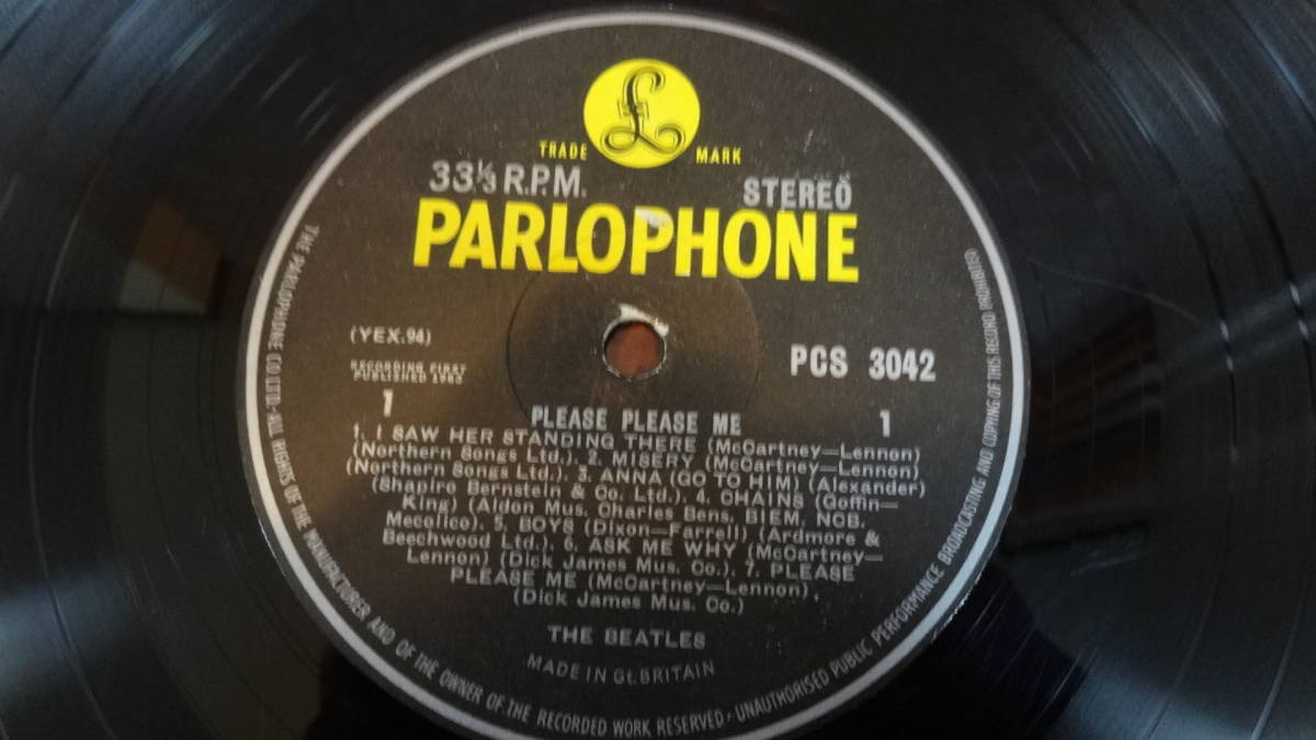 UK・BIGSTEREO盤LP・THE BEATLES/PLEASE PLEASE ME_画像6