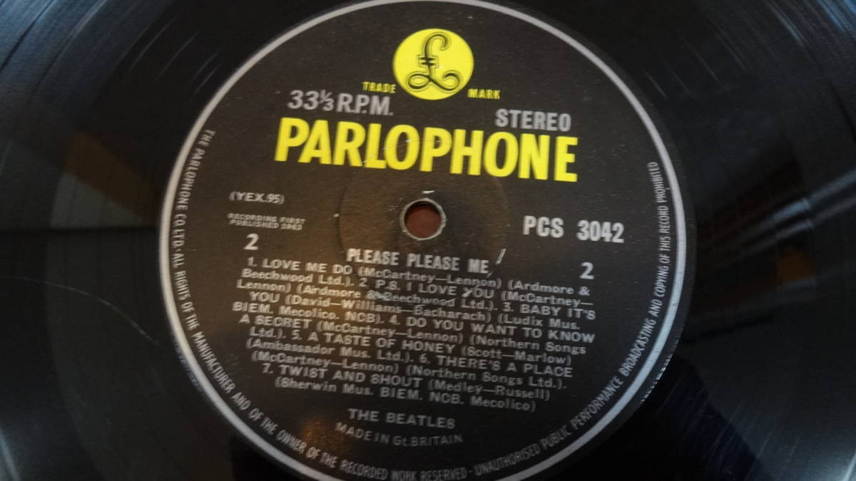 UK・BIGSTEREO盤LP・THE BEATLES/PLEASE PLEASE ME_画像7