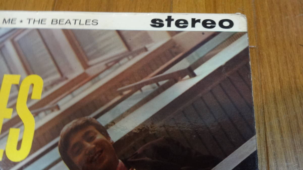 UK・BIGSTEREO盤LP・THE BEATLES/PLEASE PLEASE ME_画像4