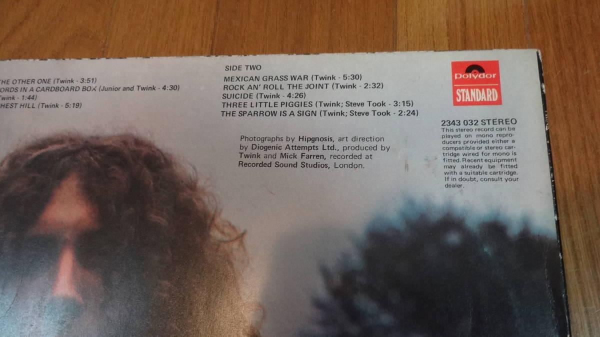 UKマト1盤レア盤LP・TWINK/THINK PINK_画像4