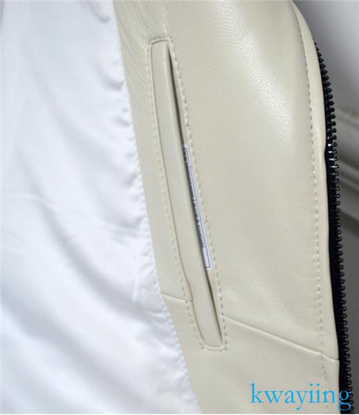 新入荷☆上層牛革 男子空軍飛行スーツ レザージャケット メンズレザーウェア レザージャケット サイズ選択可YF-18_画像8