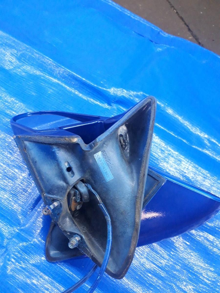 【稀少!】RX-7 FD3S ガナドール エアロミラー サイドミラー ドアミラー 絶版 後期 前期 MAZDA RX7 左右 セット イノセントブルー 青_画像7