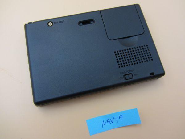 中古 SANYO NV-LB60DT/Gorilla Lite 5.0V型 ワンセグ SSDポータブルナビゲーション 8GB SSD ゴリラジャイロ カーナビ NAV019_画像3