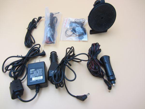 中古 SANYO NV-LB60DT/Gorilla Lite 5.0V型 ワンセグ SSDポータブルナビゲーション 8GB SSD ゴリラジャイロ カーナビ NAV017_画像7