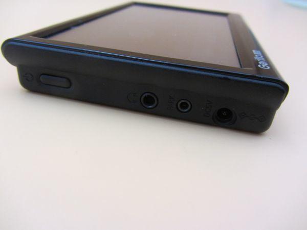 中古 SANYO NV-LB60DT/Gorilla Lite 5.0V型 ワンセグ SSDポータブルナビゲーション 8GB SSD ゴリラジャイロ カーナビ NAV016_画像4