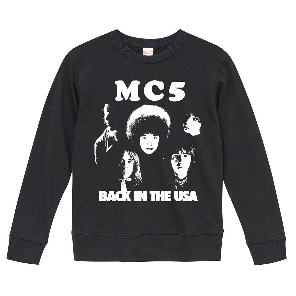 【Mサイズ 新品 黒スウェット】MC5 サイケデリック ハードロック ガレージパンク 甲本ヒロト 60s 70s LP CD レコード 7inch GARAGE PUNK_画像1