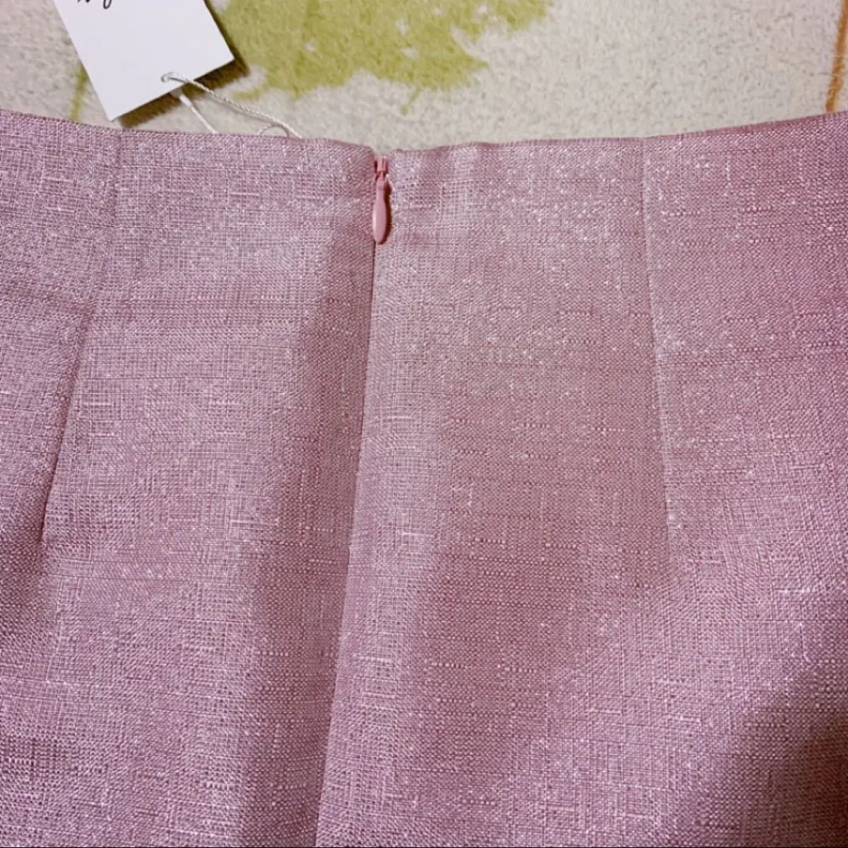 dazzlin/グリッター台形スカート