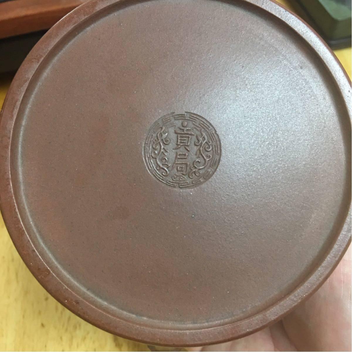 古玩 紫砂 煎茶道具 中国 茶壷 唐物 紫泥 急須 貴重 _画像10