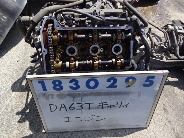 【即決】 キャリイ DA63T エンジン_画像1