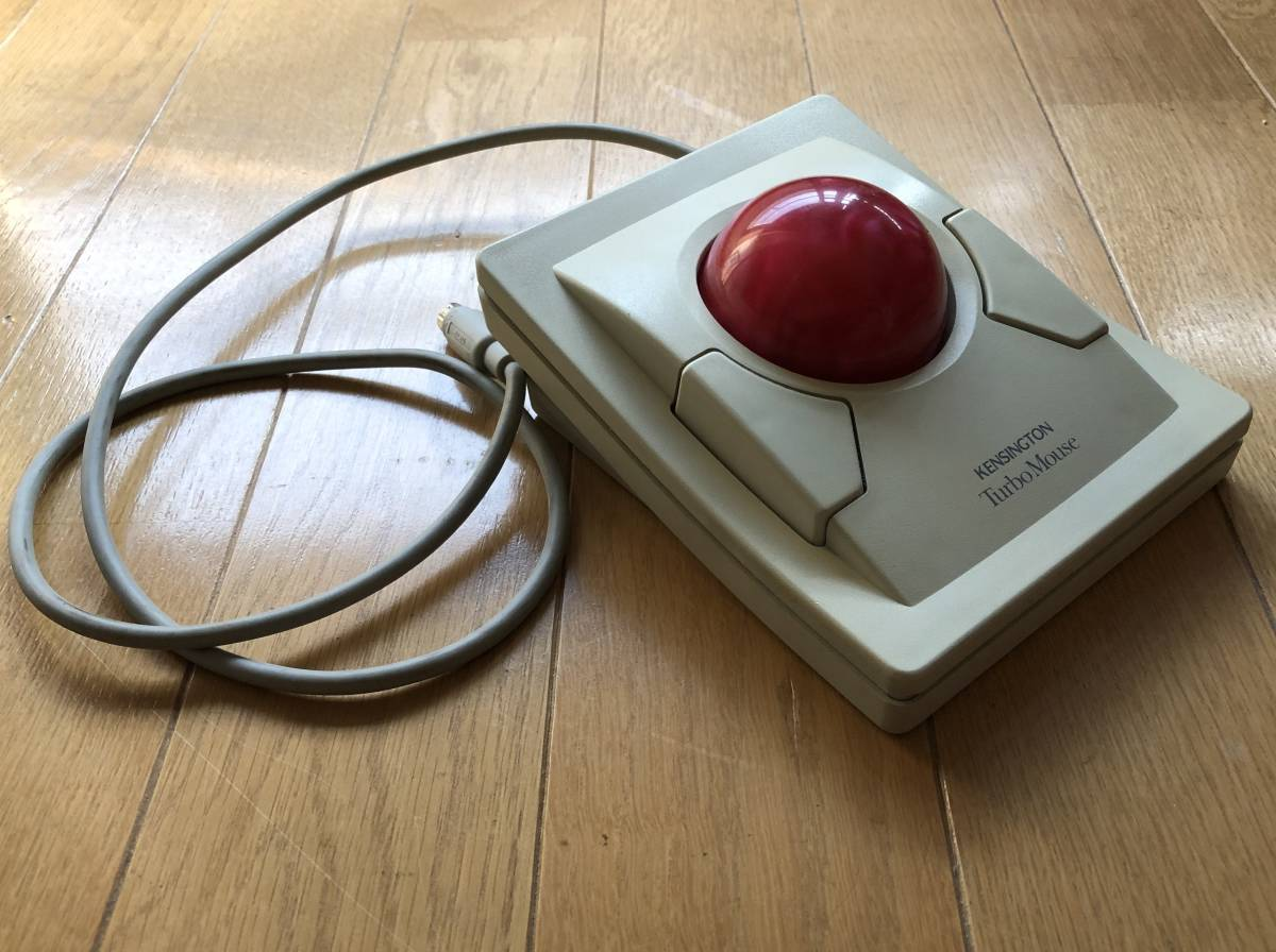 Kensington Turbo Mouse ADB Trackball トラックボール ビンテージ_画像1