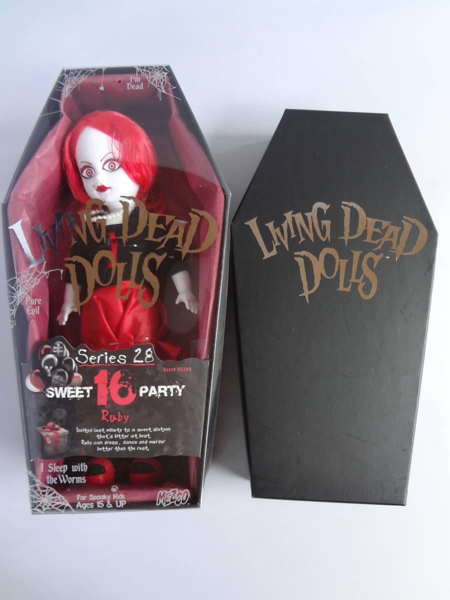 Series 28 Sweet 16 Party LIVING DEAD DOLLS Ruby Mezco LDD