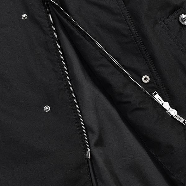 圧倒的クラス感◎!!!「エルメネジルドゼニア/Zegna」秋冬 大人の都会的ラグジュアリー&モード感漂う!至極のステンカラーコート 黒 XS_画像5