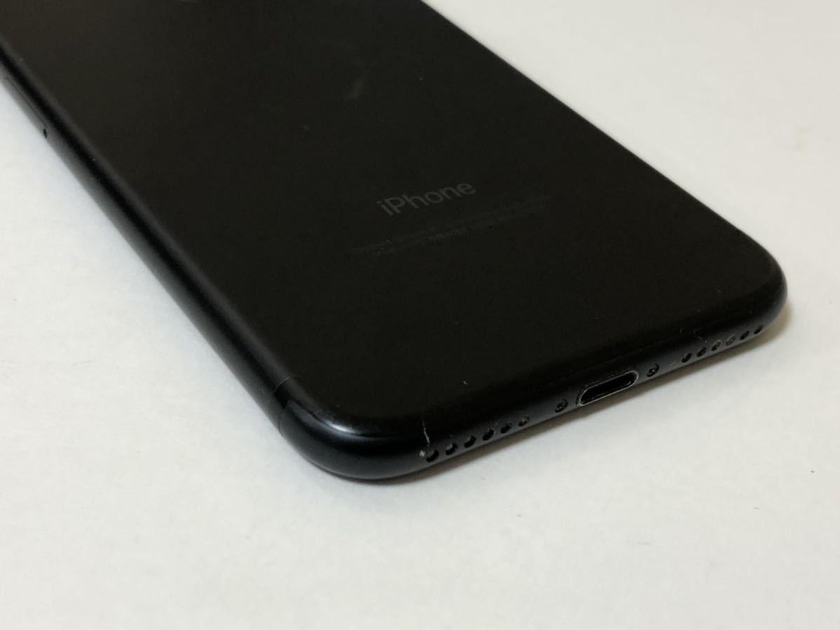 ■SIMフリーiPhone7 32GB マットブラック 判定◯ 残債なし■_画像4