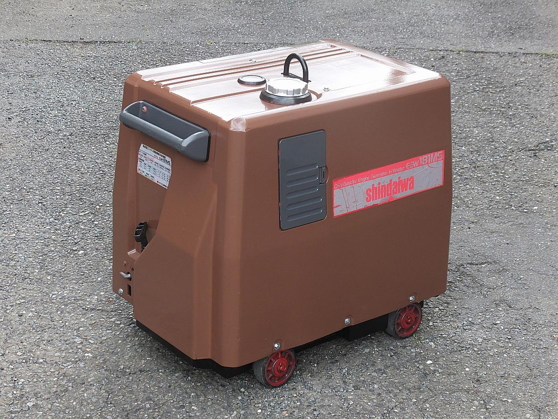 新ダイワ□EGW-181MS□防音型□発電機□溶接機_画像5