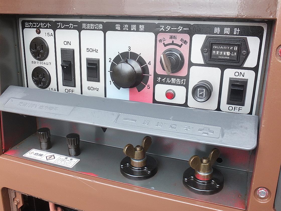 新ダイワ□EGW-181MS□防音型□発電機□溶接機_画像8