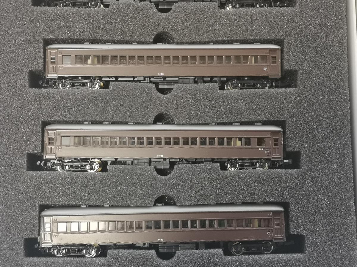 モデモ NS102 国鉄20m級旧形客車 急行列車 基本車両セット MODEMO スハ32 スハフ32 スハニ31 スロハ31 ダブルルーフ_画像4