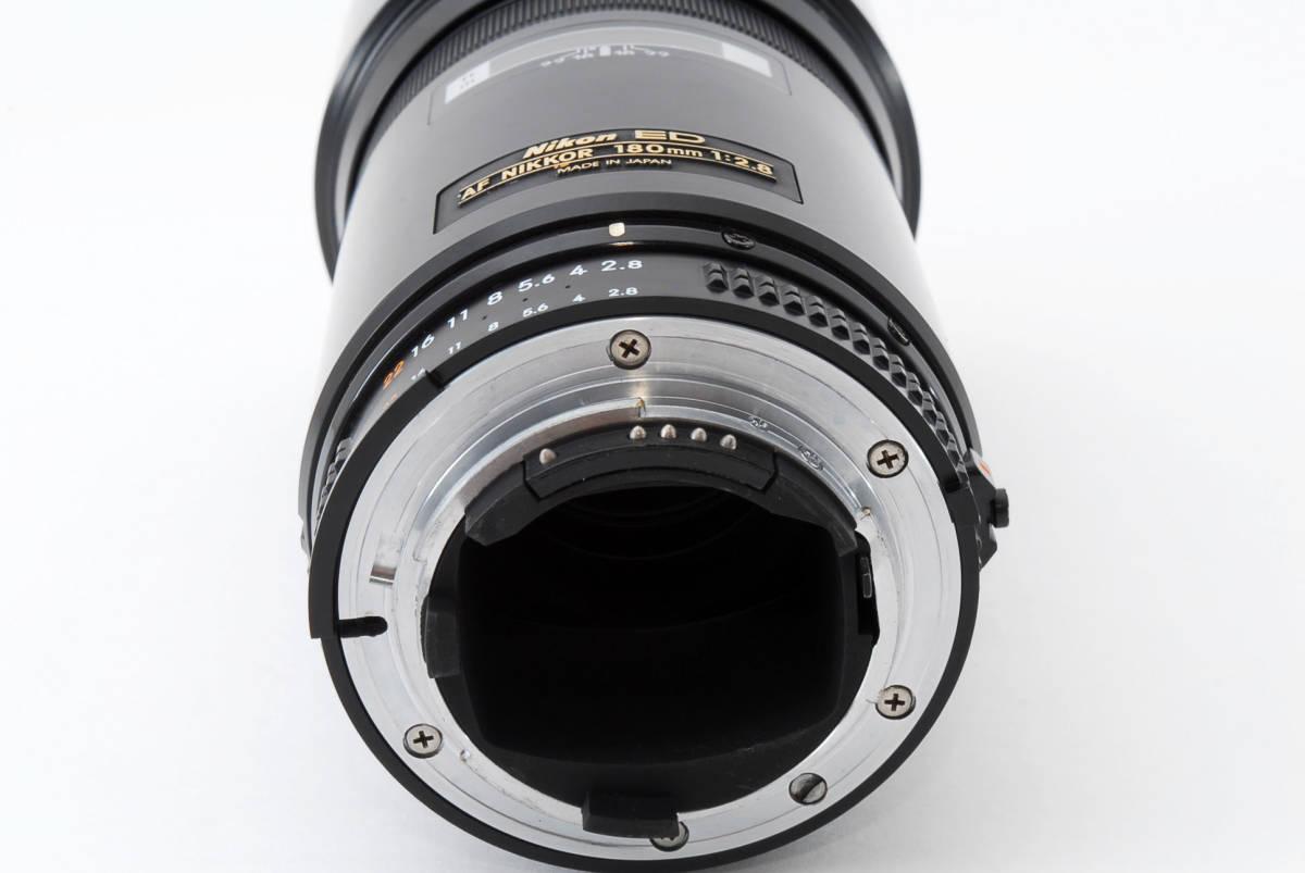 ☆希少☆ Nikon AF NIKKOR 180mm F2.8 ニコン 望遠 単焦点 オートフォーカス レンズ LENS_画像7