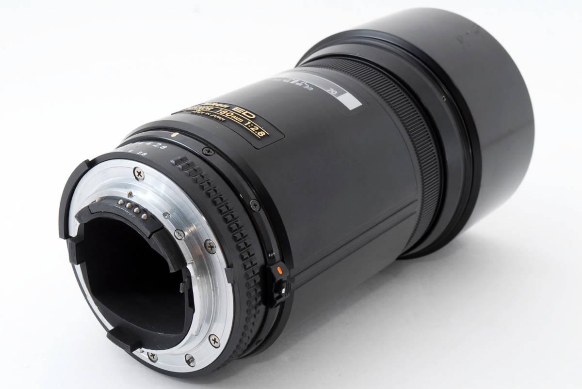 ☆希少☆ Nikon AF NIKKOR 180mm F2.8 ニコン 望遠 単焦点 オートフォーカス レンズ LENS_画像6