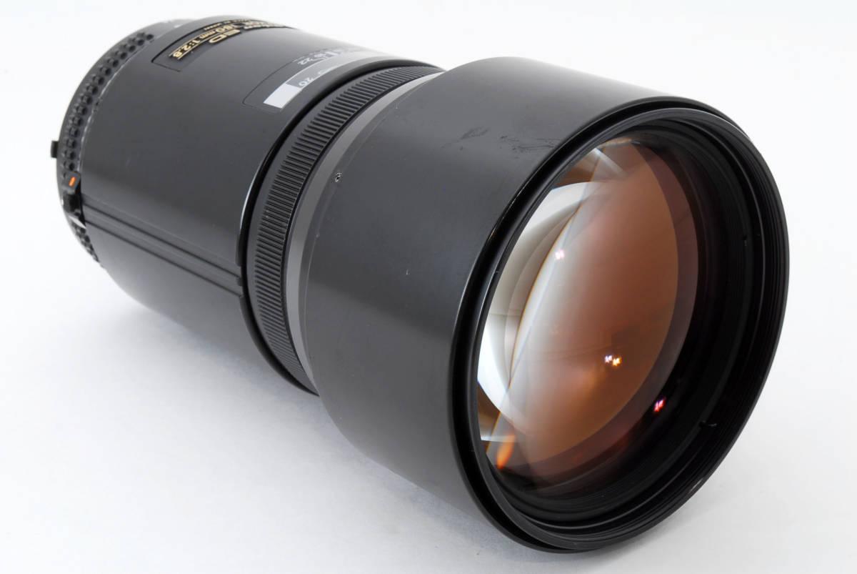 ☆希少☆ Nikon AF NIKKOR 180mm F2.8 ニコン 望遠 単焦点 オートフォーカス レンズ LENS_画像5