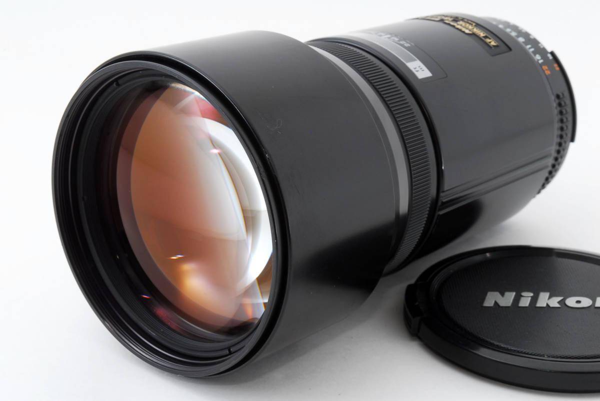 ☆希少☆ Nikon AF NIKKOR 180mm F2.8 ニコン 望遠 単焦点 オートフォーカス レンズ LENS
