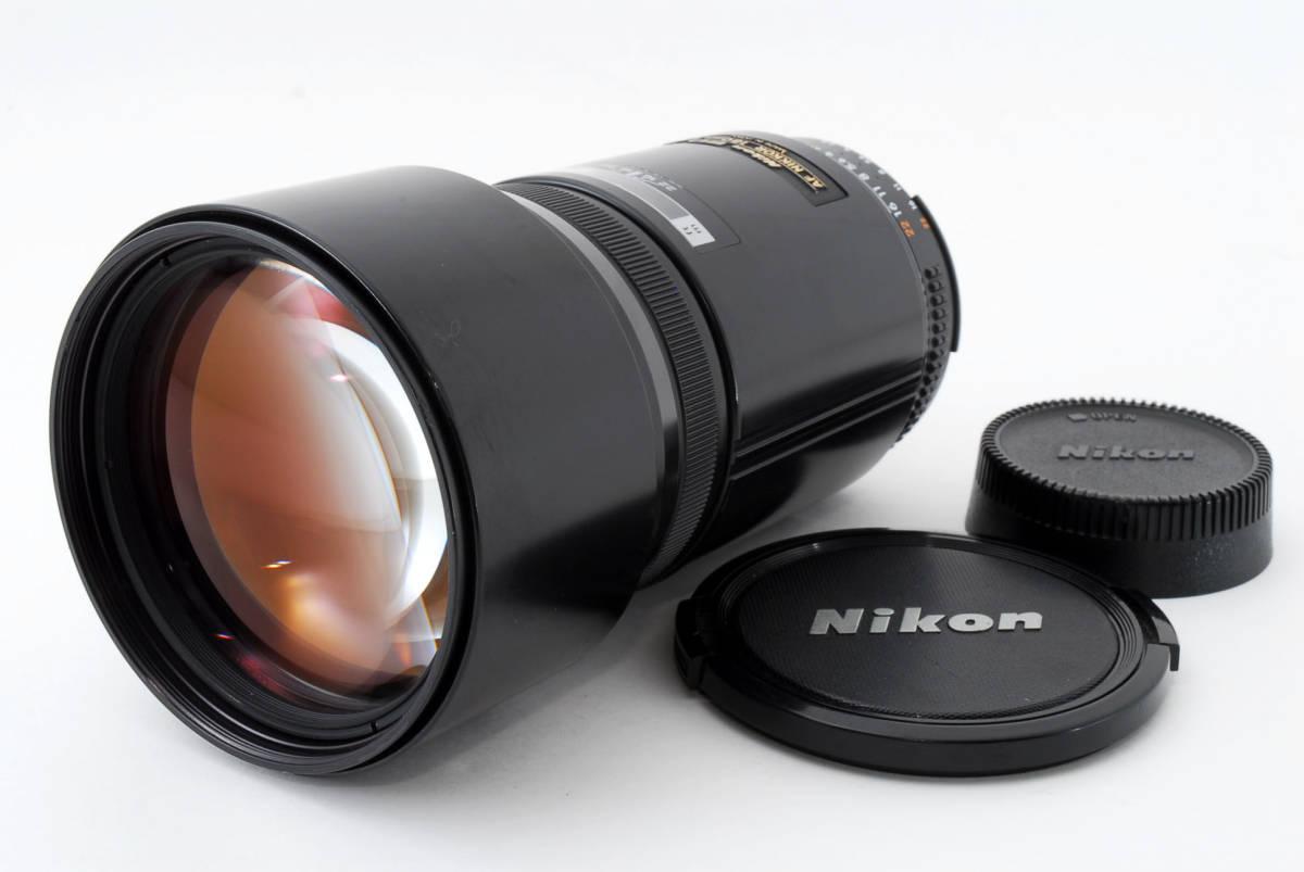 ☆希少☆ Nikon AF NIKKOR 180mm F2.8 ニコン 望遠 単焦点 オートフォーカス レンズ LENS_画像3