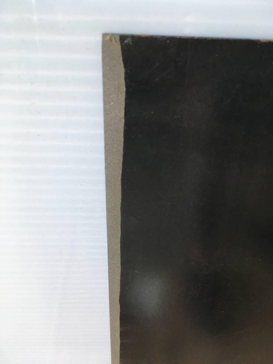 ●B7 引取歓迎 プラスチック板 黒 2枚 51.5x79.5x厚み0.2cm 端材 樹脂素材 切削加工用に 管理:1F_画像7