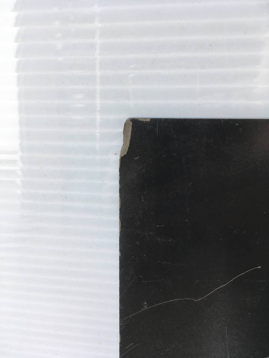 ●B7 引取歓迎 プラスチック板 黒 2枚 51.5x79.5x厚み0.2cm 端材 樹脂素材 切削加工用に 管理:1F_画像4