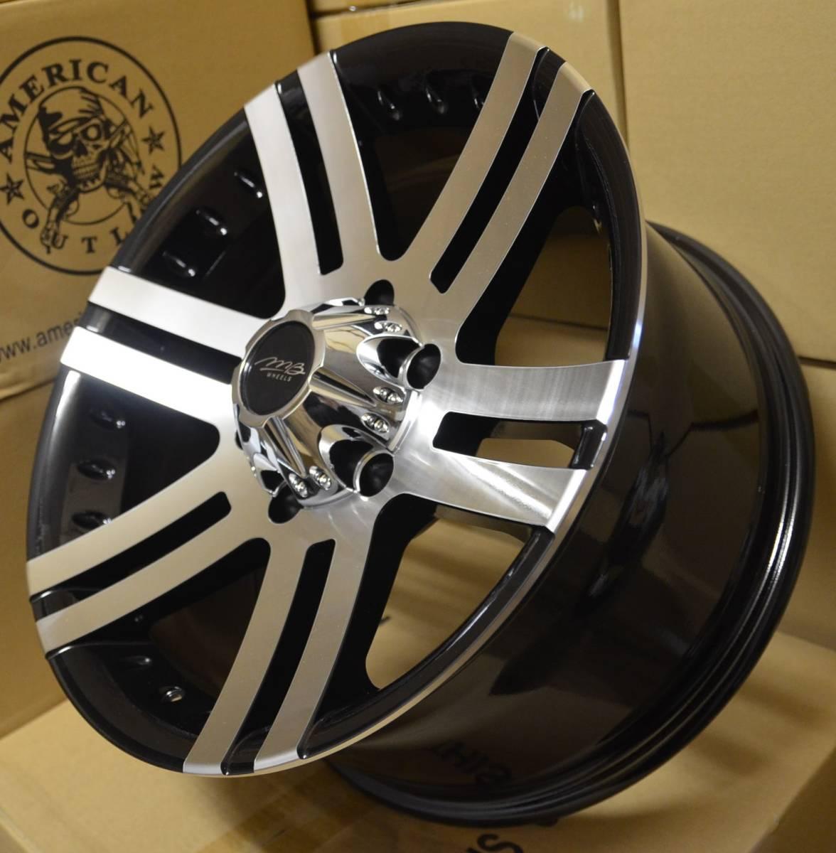 17インチ R17 17x8.5J OFF +10 ( 6h 135 ・ HUB 87.1 ) フォード F150 / エクスペディション ・ リンカン ナビゲーター / 5本セット 新品_4本セット出品 (4本価格)